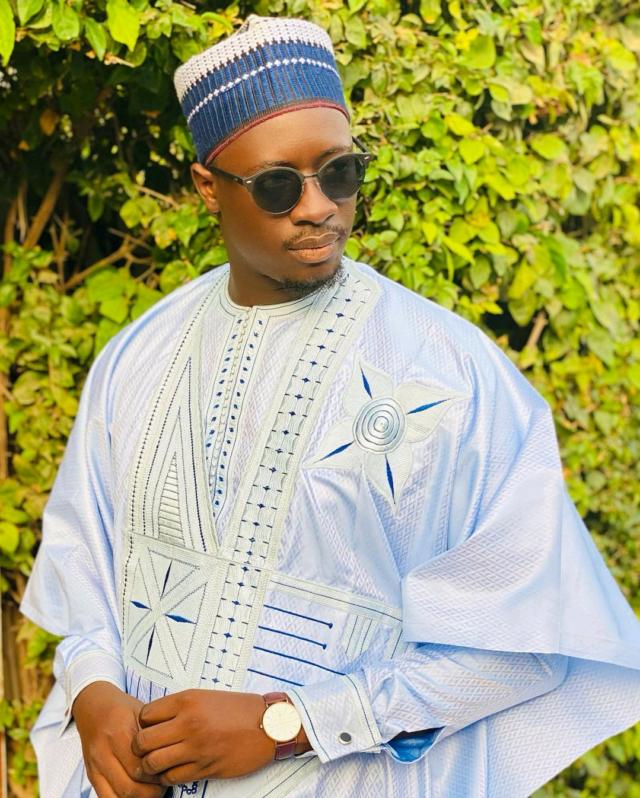L'acteur Babacar Ndiaye de la série