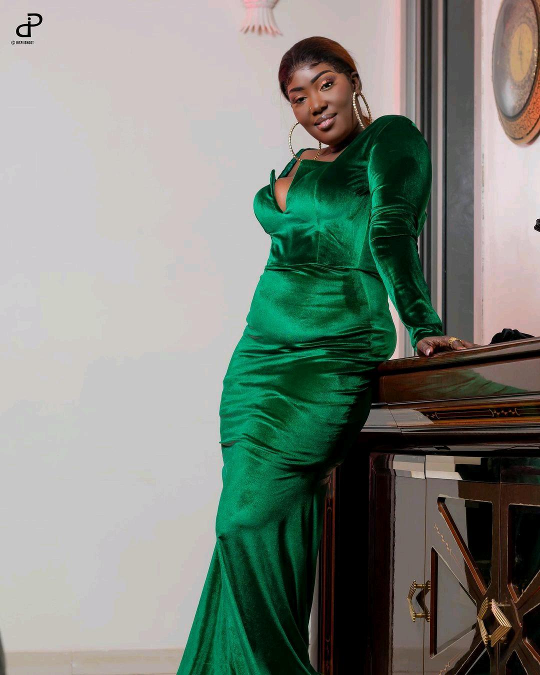 La chanteuse Dior Mbaye très ravissante