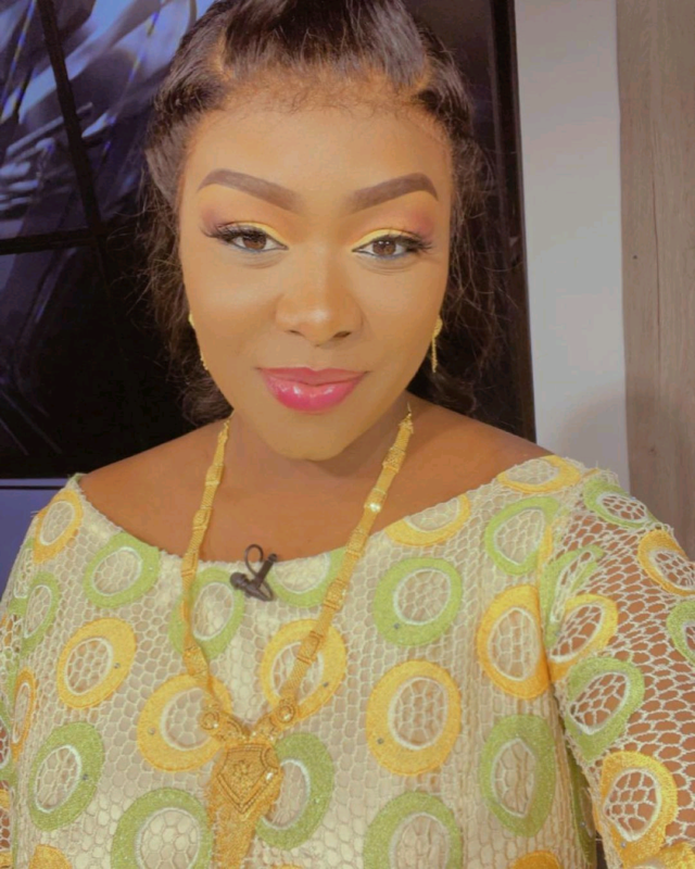 L'animatrice Bijou Ndiaye de l'émission