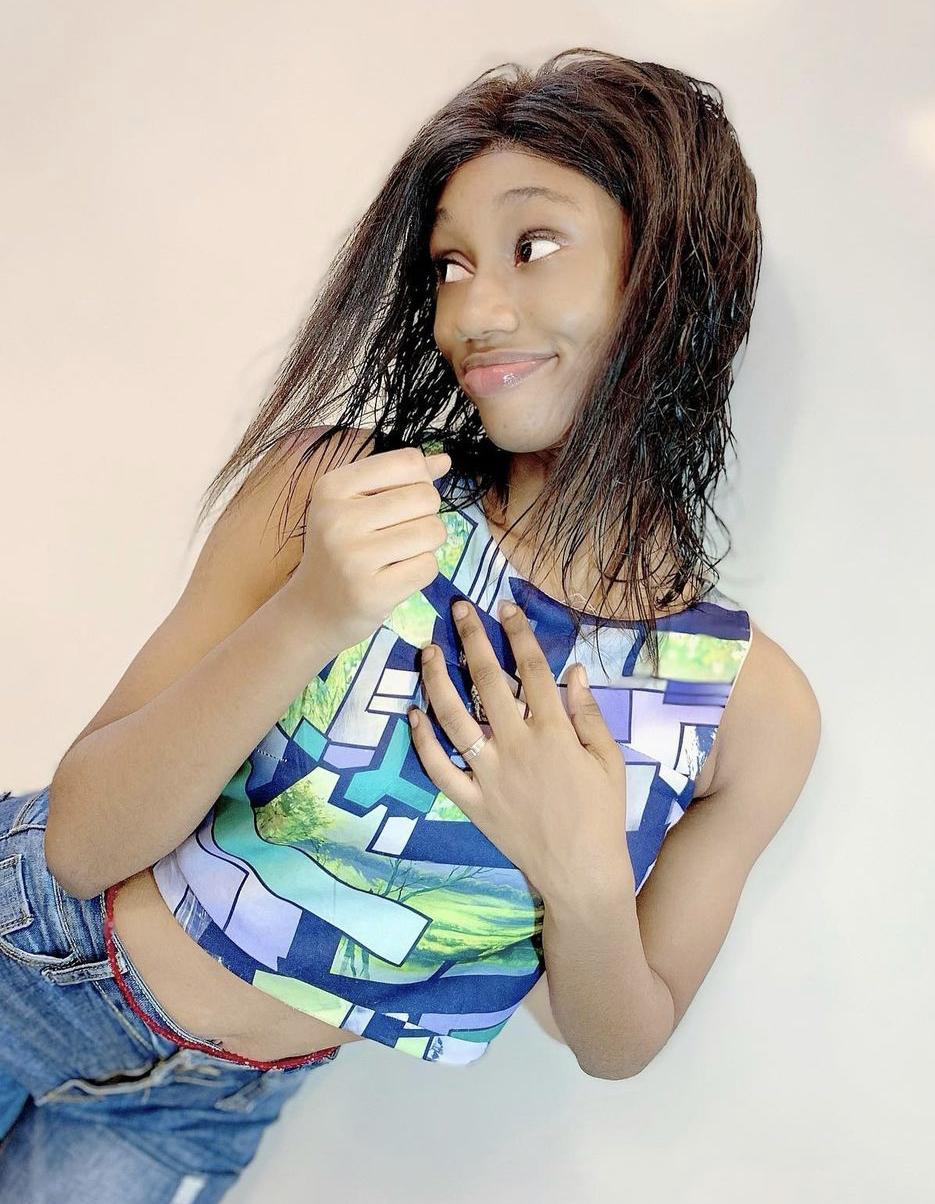 La modèle Binta Ndir alias Bb Binta